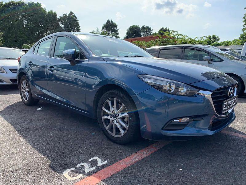 2018 Mazda 3 for rental, Phv, Gojek, Grab, Brand New Avante