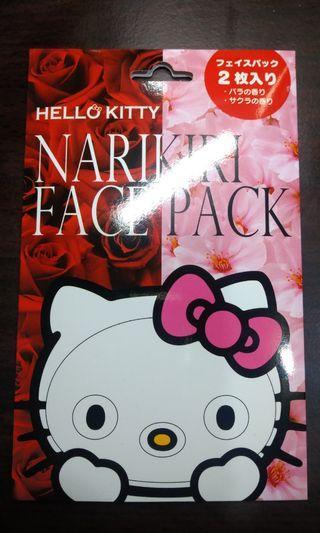 凱蒂貓 造型面膜 hello kitty mask