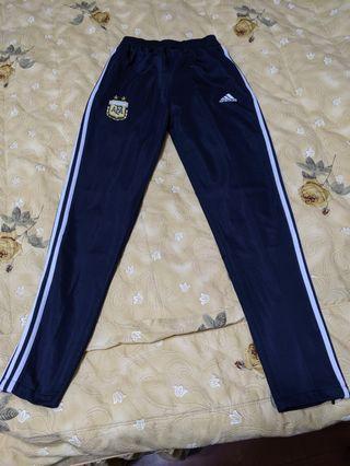 Adidas 三線直筒修身褲