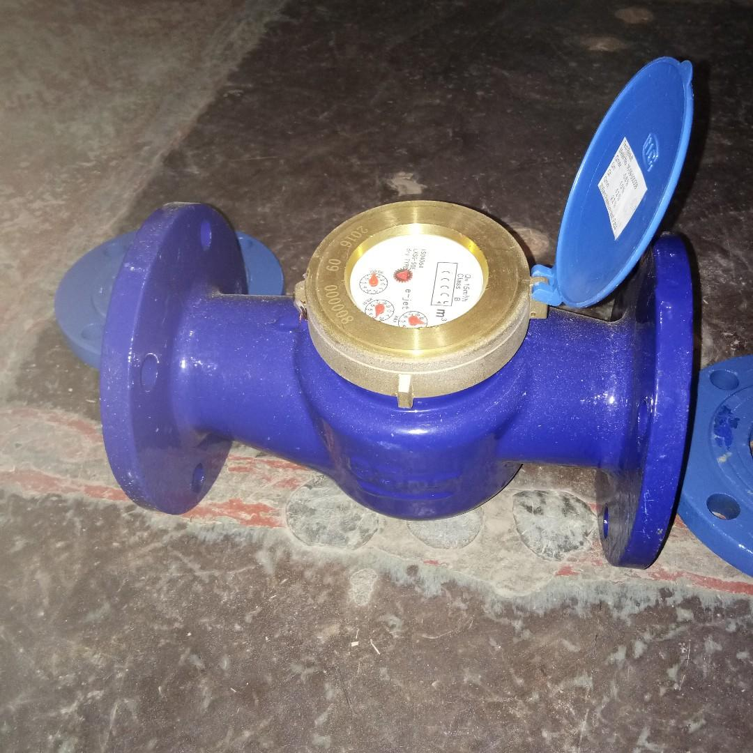 """2-1/2"""" 65mm H water meter flange end connection e-jet"""