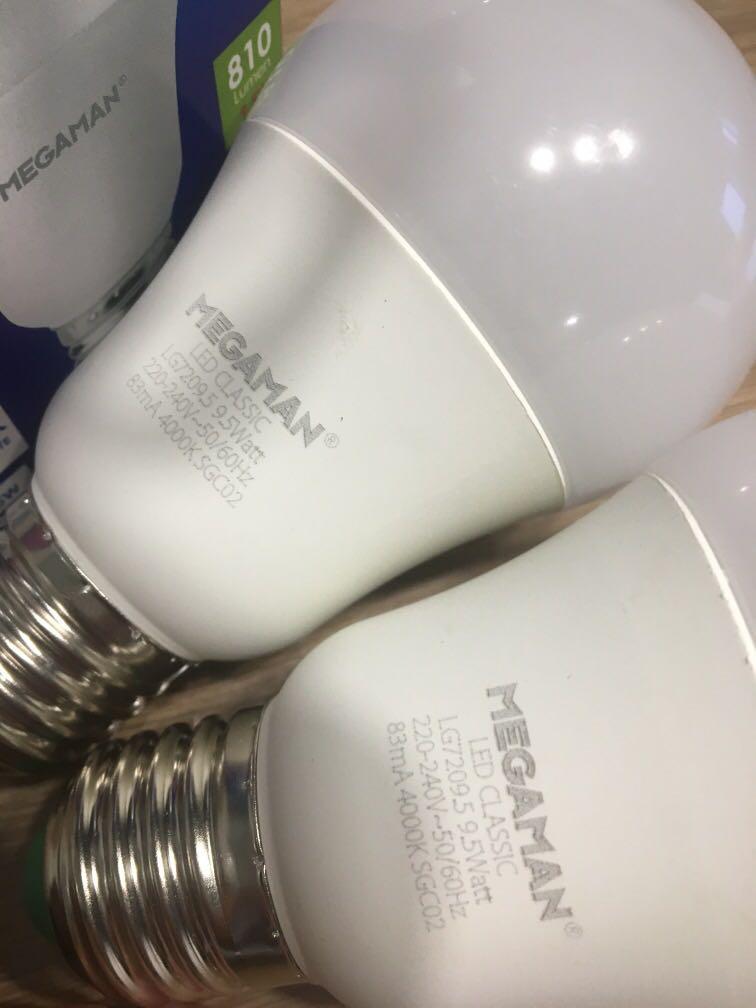 2 LED Bulb 4000k cool white
