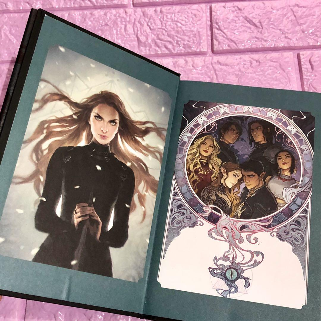 A court of wings and ruin sarah j. Maas special edition BAM first edition bought from USA hardbound new