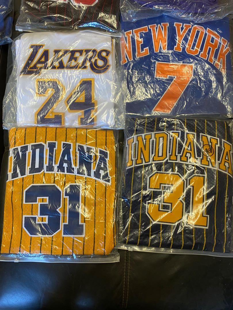 Basketball Swingman Jersey Replicas in various sizes