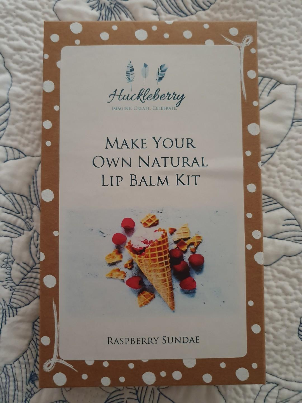 Brand New Huckleberry DIY Lip Balm Kit - Rasberry Sundae