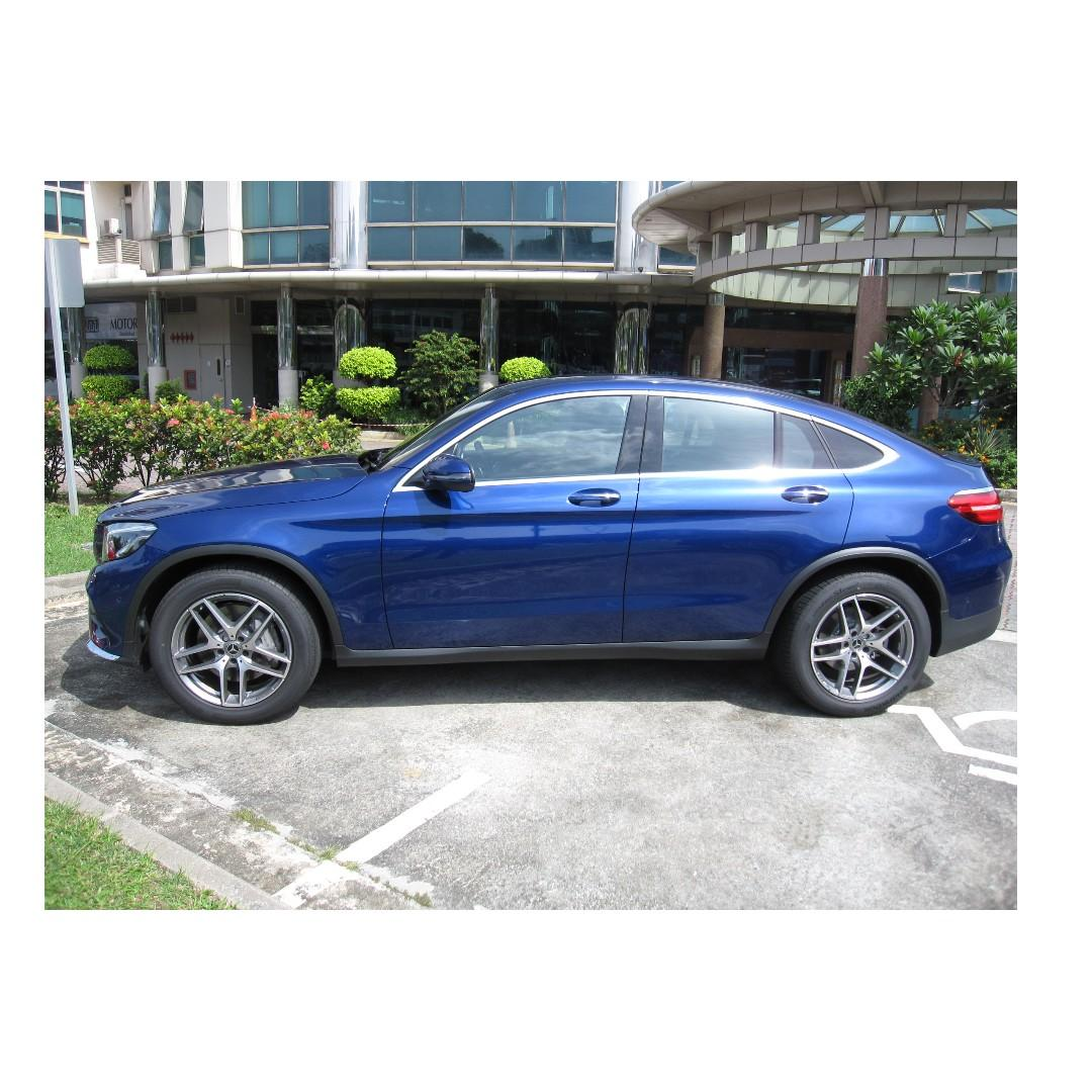 BRAND NEW MERCEDES BENZ GLC250 COUPE AMG