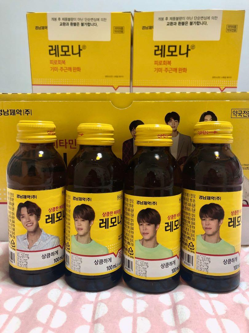 BTS x Lemona Vitamin Drink (Jimin, J-Hope)