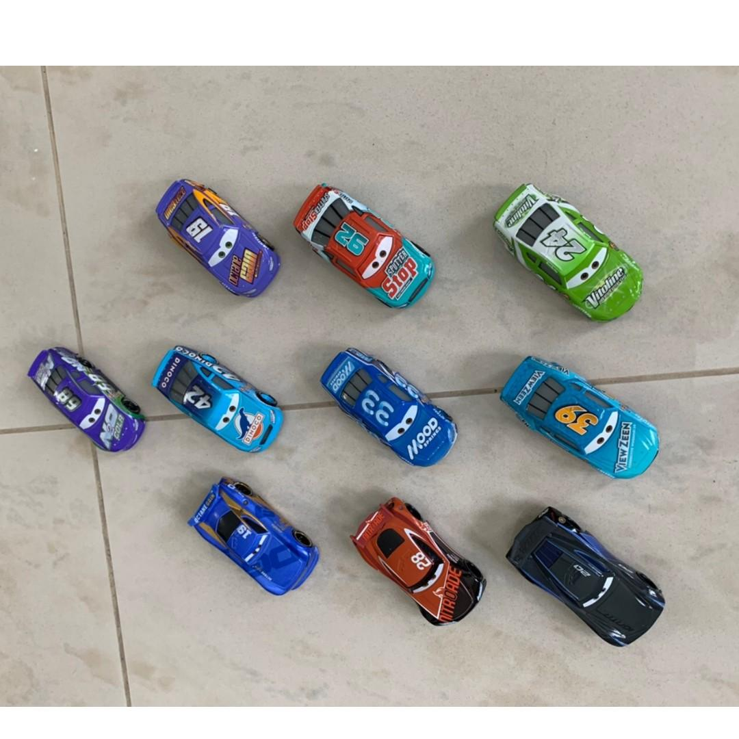 Pixar Cars 3 Movie die cast collection