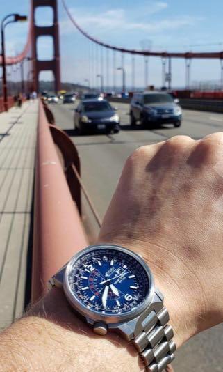 Men's Formal Watch - Stainless Steel Bracelet - Citizen Nighthawk Eco-Drive