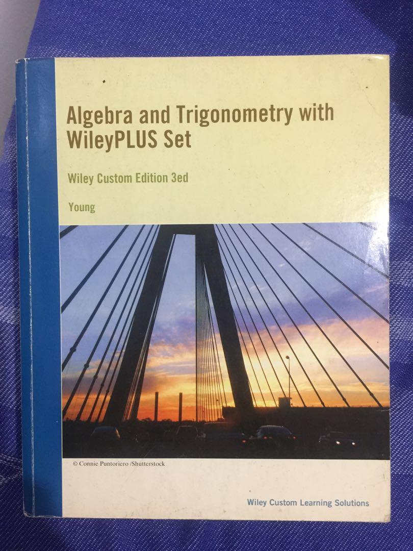 College Textbook | Algebra and Trigonometry with WileyPLUS Set