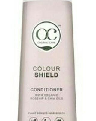 Colour Shield Conditioner With Organic Rosehip Oil and Chia Oil- vegan Friendly 400ml