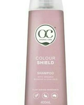 Colour Shield Shampoo With Organic Rosehip Oil and Chia Oil -Vegan Friendly 400ml