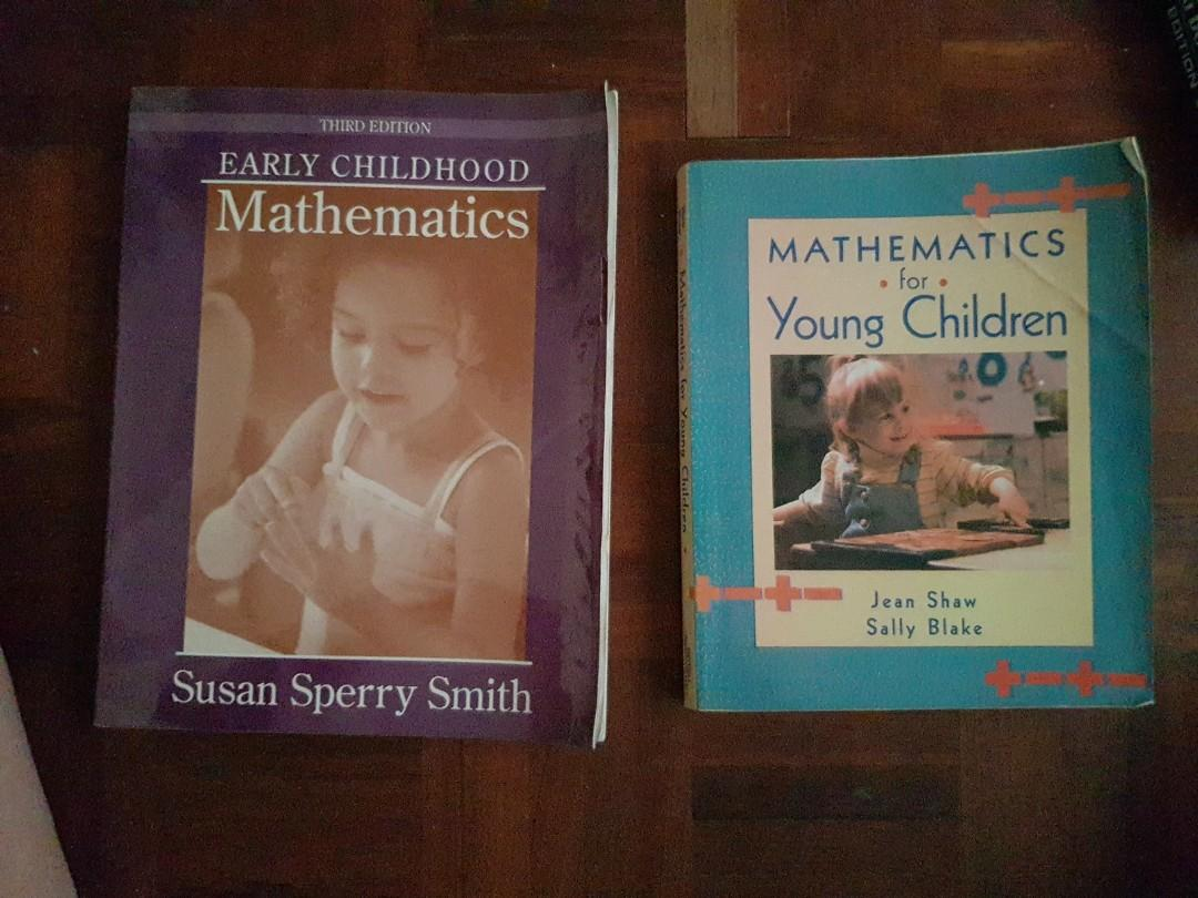 Early childhood mathematics and Mathematics for young children