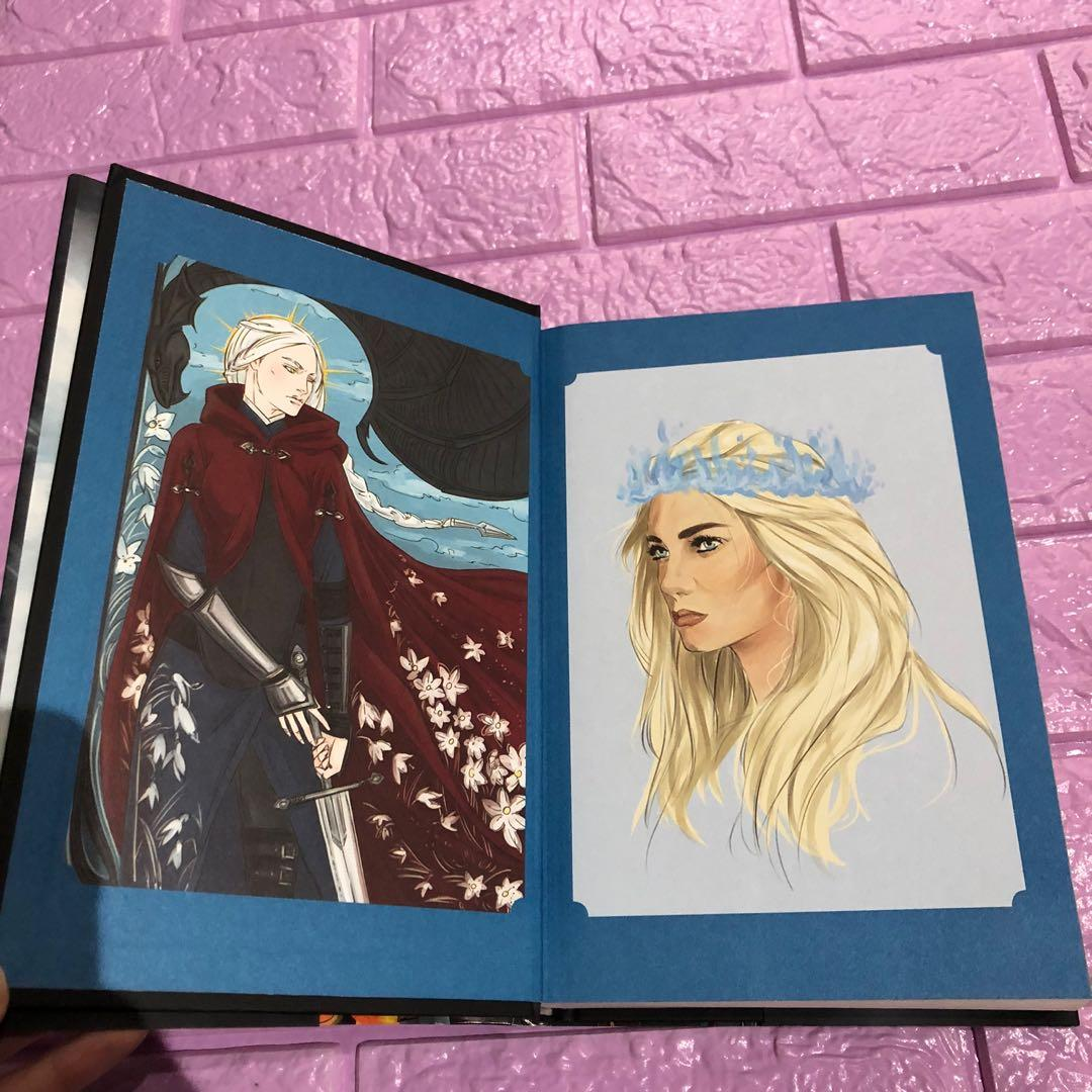 Empire of storms sarah j. Maas special edition with endpaper dust jacket art first edition hardbound new throne of glass series bought from USA