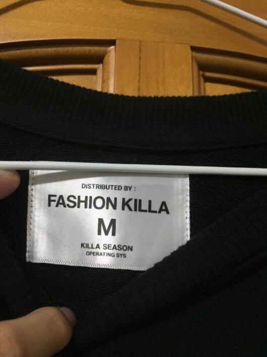 Fashion Killa 黑M (over size) 可議價