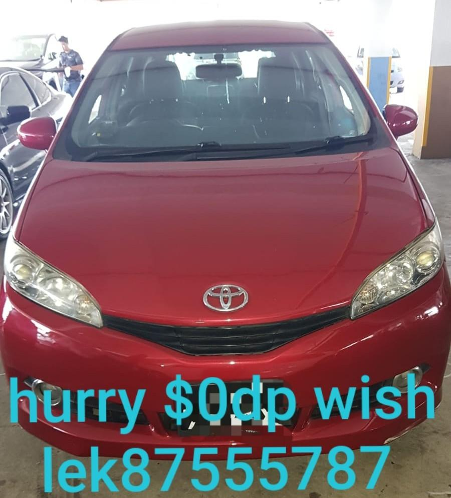 For sales Toyota wish 2.0 deluxe