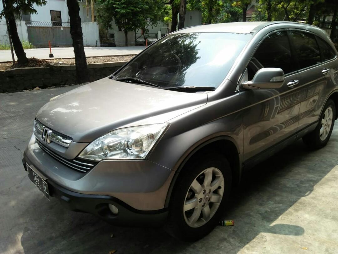 *Honda CRV 2.4 2008 matic KM 100rb pajak panjang 03_2020 istimewa.. *