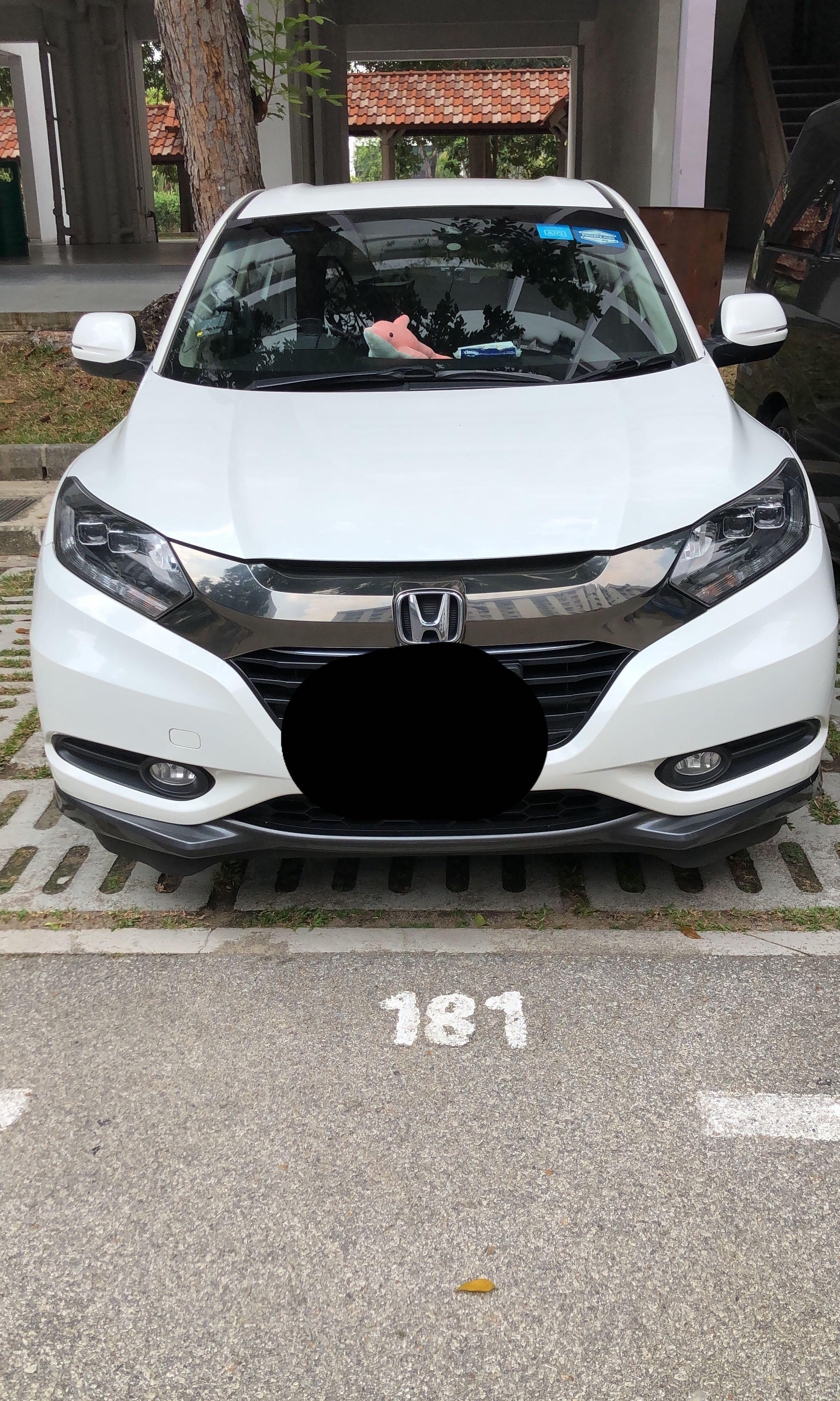 Honda Vezel Hybrid Relief Driver Hougang