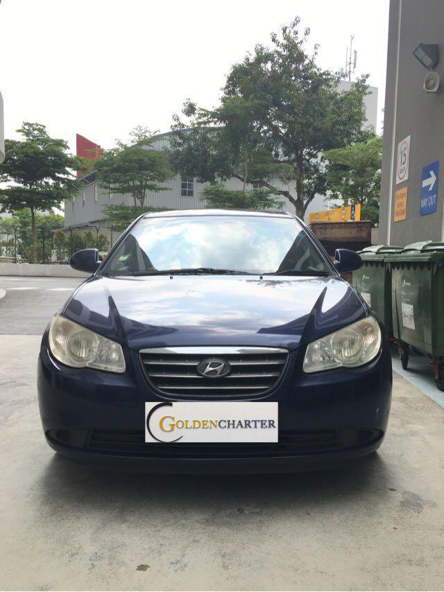 Hyundai Avante Ready For Rental Now! Gojek, Grab, Personal Rent!