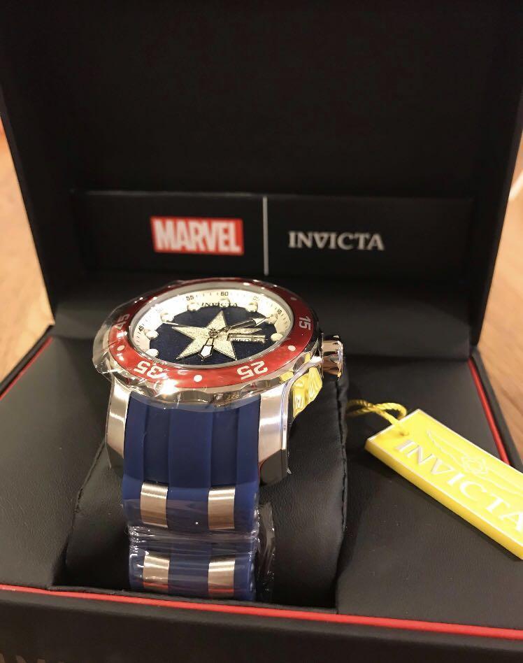 ❗️Exclusive❗️ Invicta Marvel Captain America (limited edition)