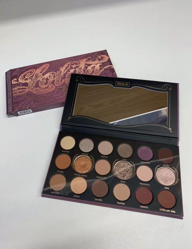 Kat Von D Beauty NEW Lolita Por Vida eyeshadow palette - brand new