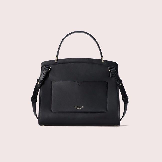 Kate Spade Romy Medium Satchel Handbag Slingbag Crossbody Black