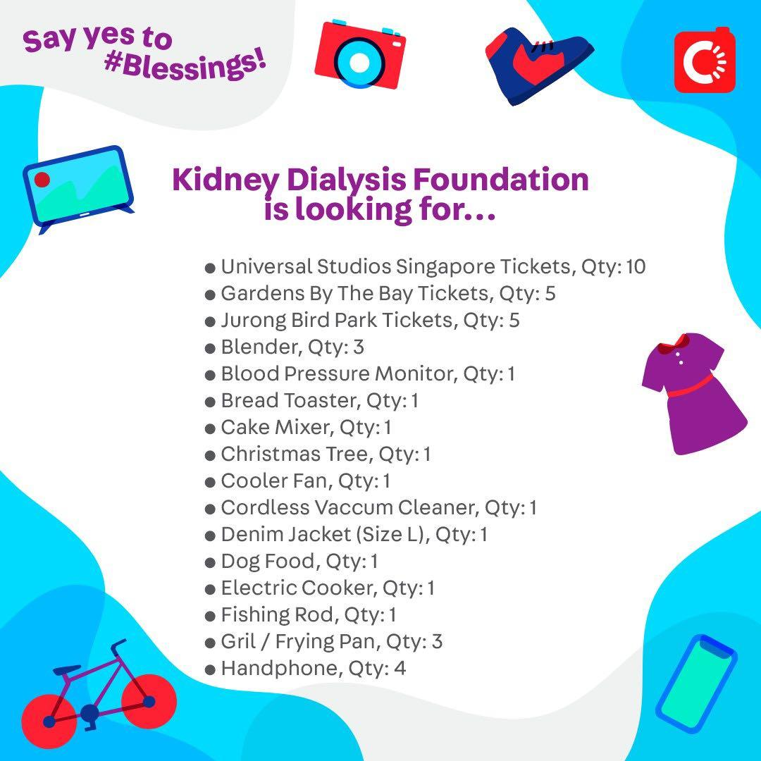 Kidney Dialysis Foundation is looking for...