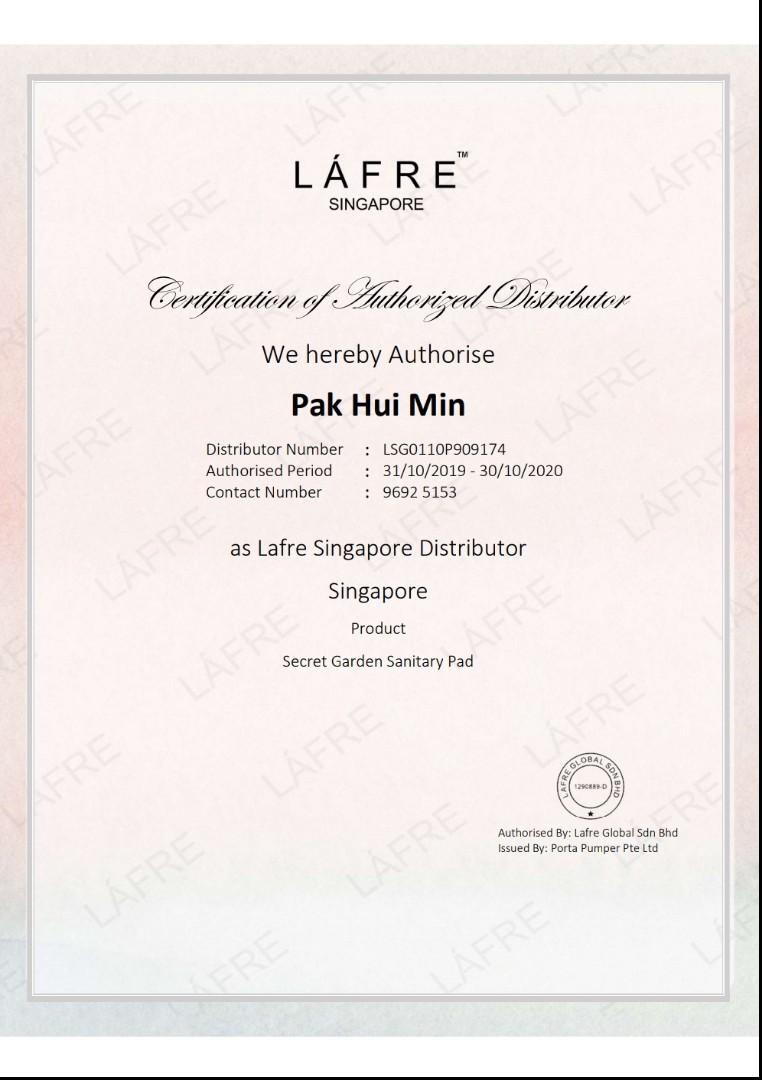Lafre SG Authorised Seller 💖💖💖 (31/10/2019 - 30/10/2020) 💖💖💖