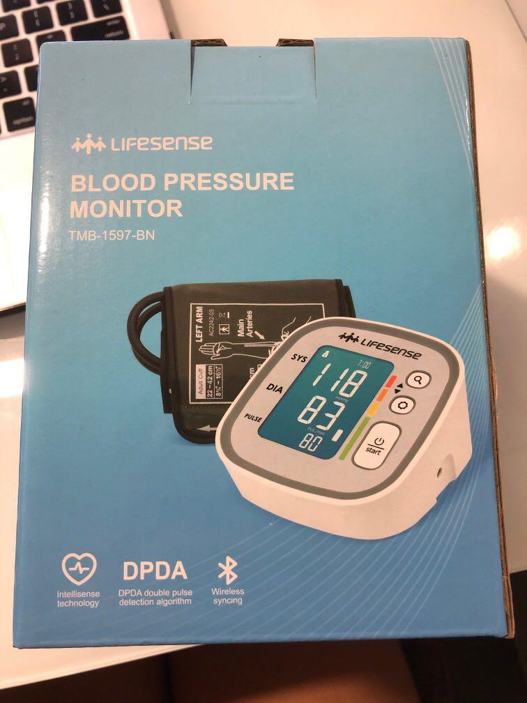 LifeSense Blood Pressure Monitor