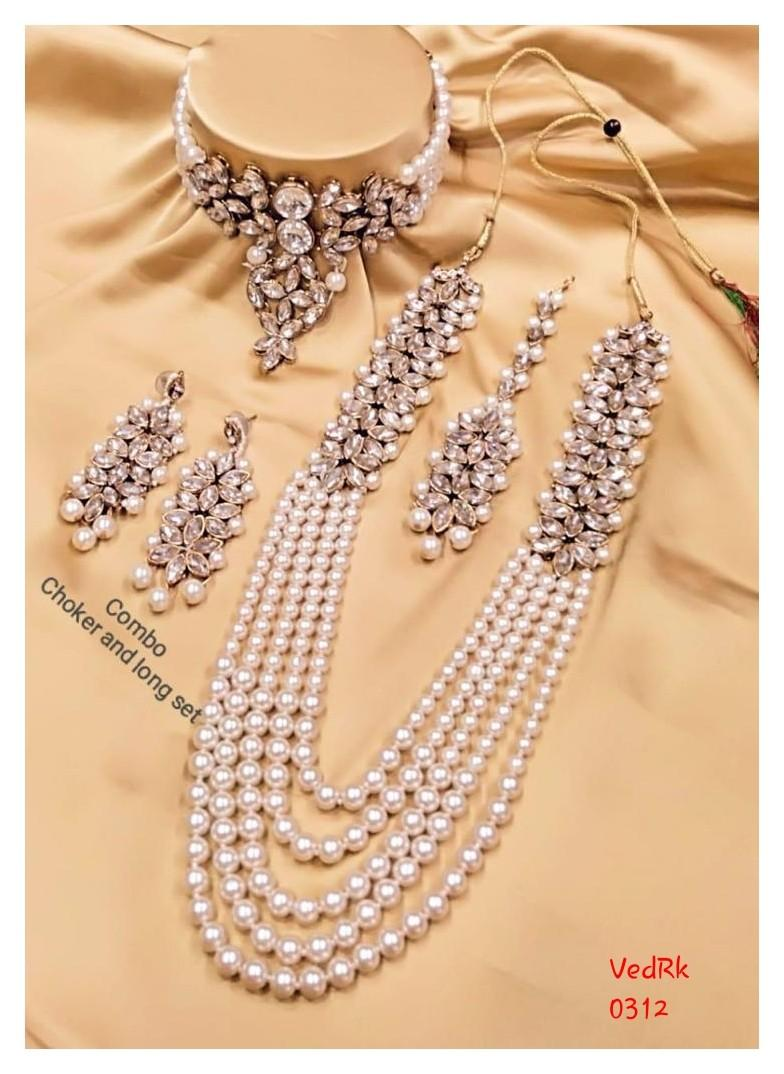Necklace Combo Set  - Indian Jewellery  - Preorder  2 Weeks