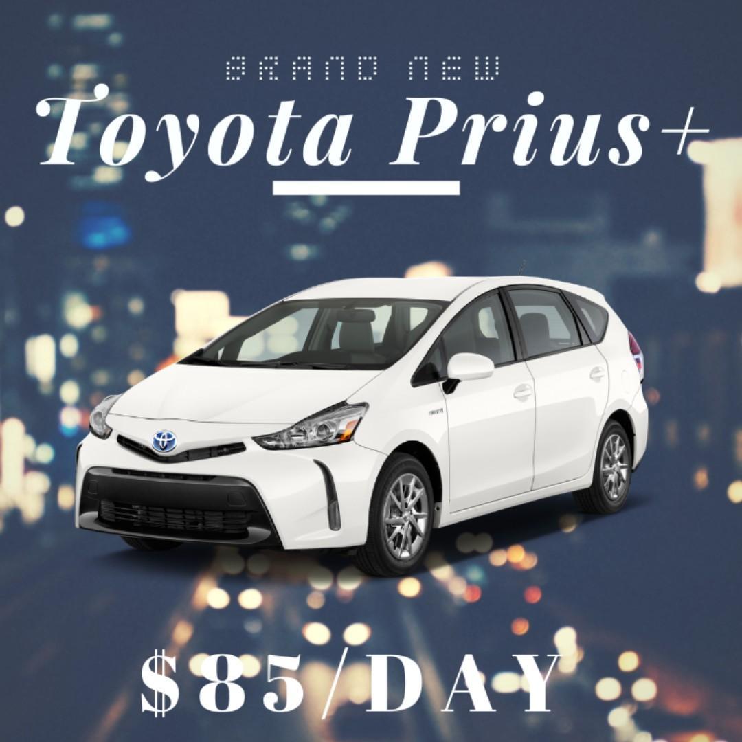 New Car** - Toyata Prius+