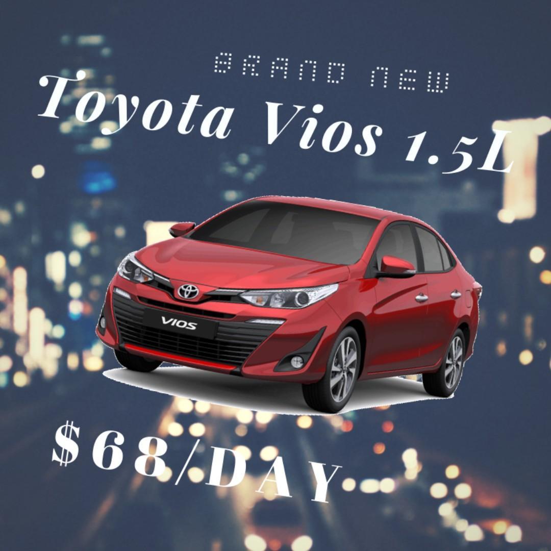 New Car - Toyota Vios