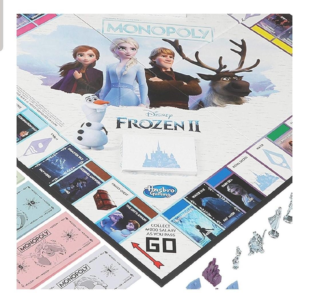 (NEW) Frozen 2 Monopoly