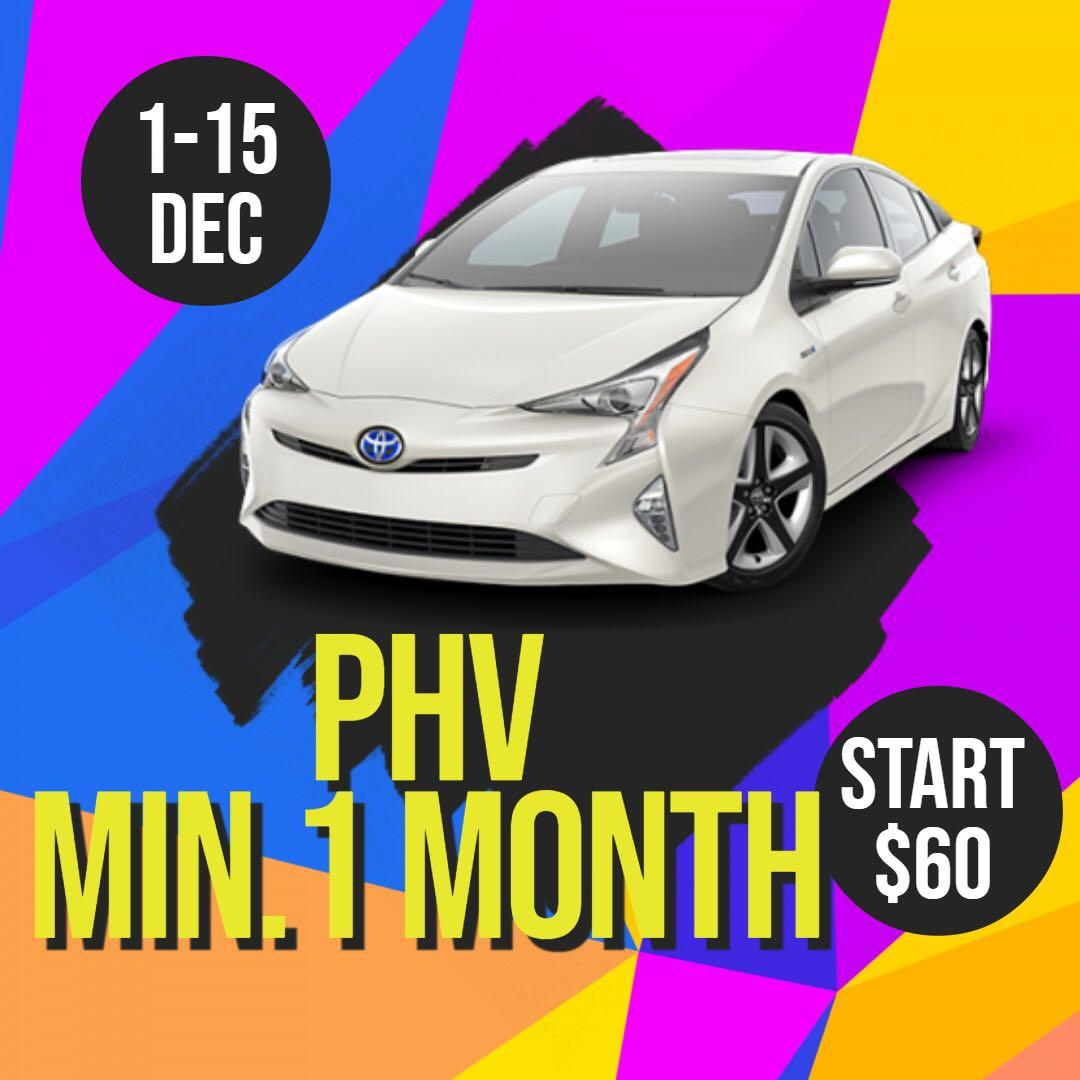 New Sign Up Special! PHV/Grab! Petrol/Hybrid cars