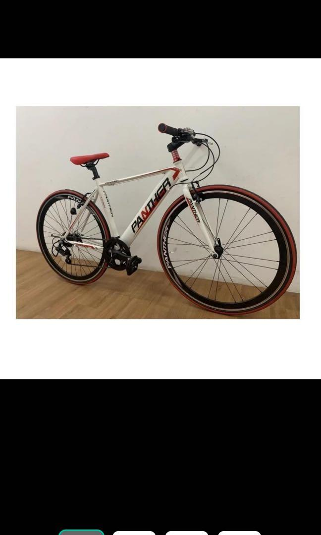 Panther 700C City Bike/Fixie Bike with Gear Shifter