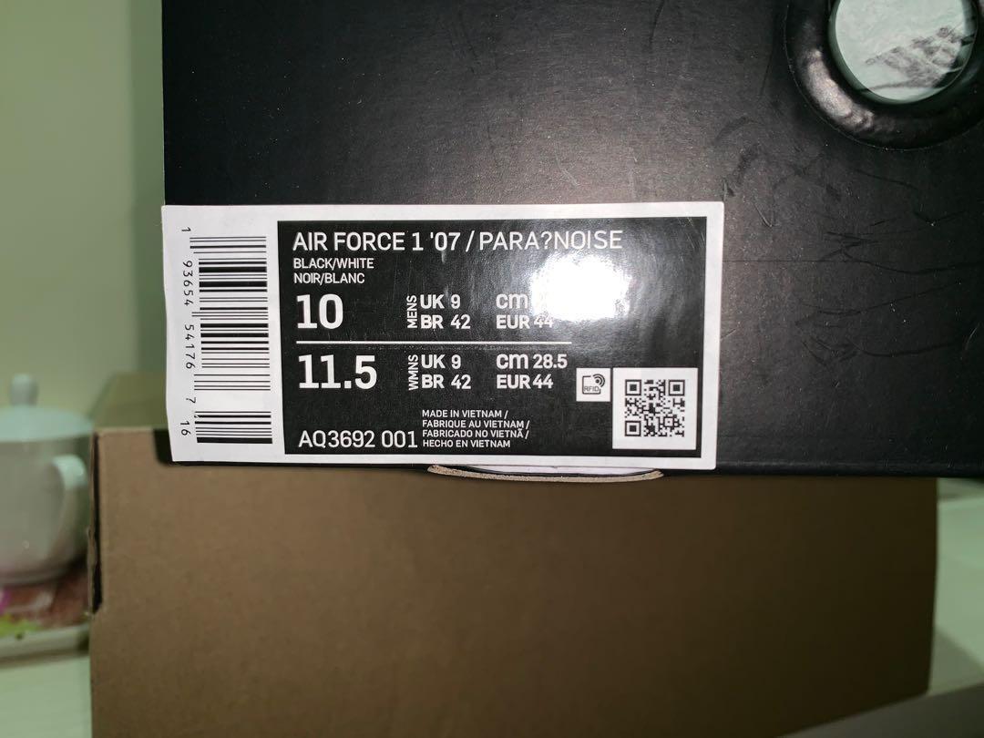 PMO Nike Air Force 1 US 10