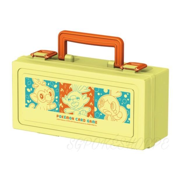 [PO] GALAR STARTERS HALF-SIZE TRADING CARDS CARRYING CASE [TCG] - POKEMON CENTER EXCLUSIVE
