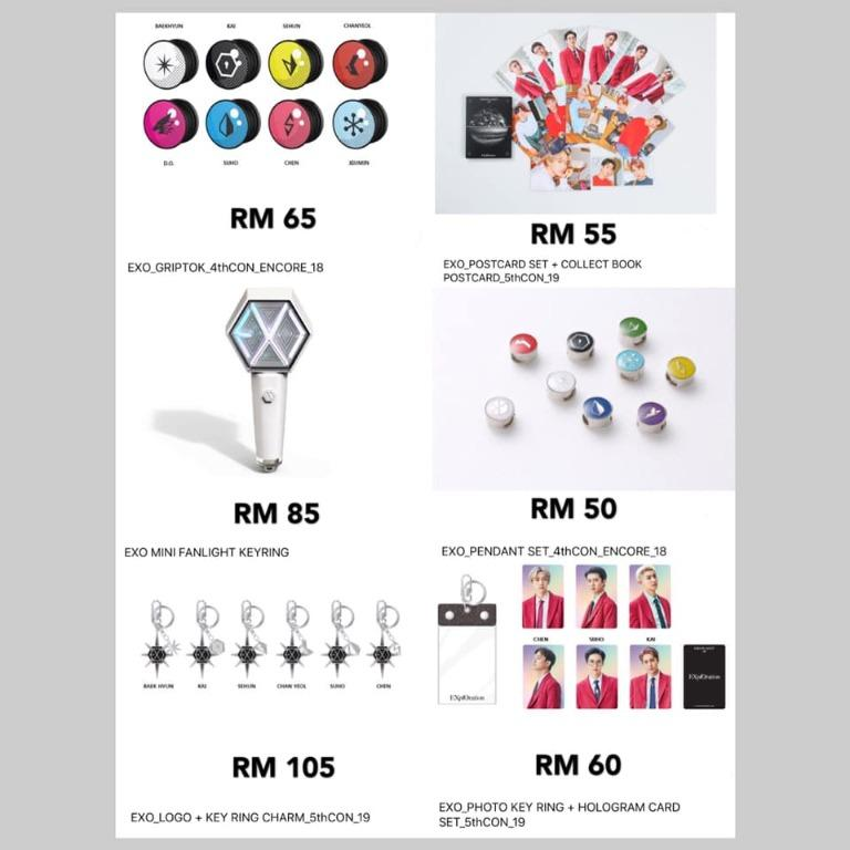 [Pre-order] EXO PLANET 5 EXPLORATION IN KUALA LUMPUR OFFICIAL GOODS 吉隆坡场演唱会官方周边