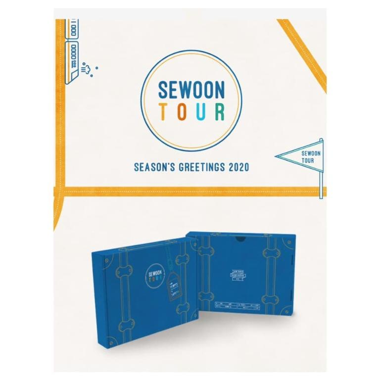 [Pre-order] JEONG SEWOON 정세운 SEASON'S GREETINGS 2020 - SEWOON TOUR