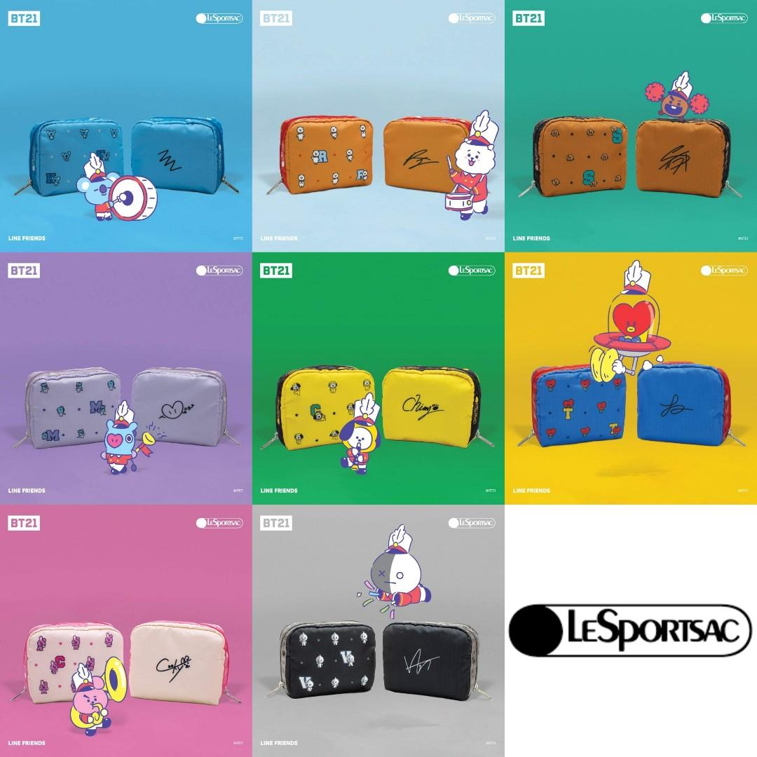 [PREORDER] LeSportsac x BT21 Collection Shopping Service (3-7/12)