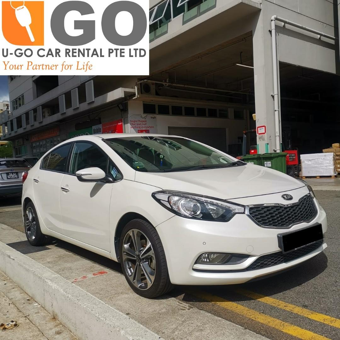 PROMOTION: KIA Cerato K3 1.6 Auto FOR RENT/ GRAB / RYDE / PERSONAL USEAGE