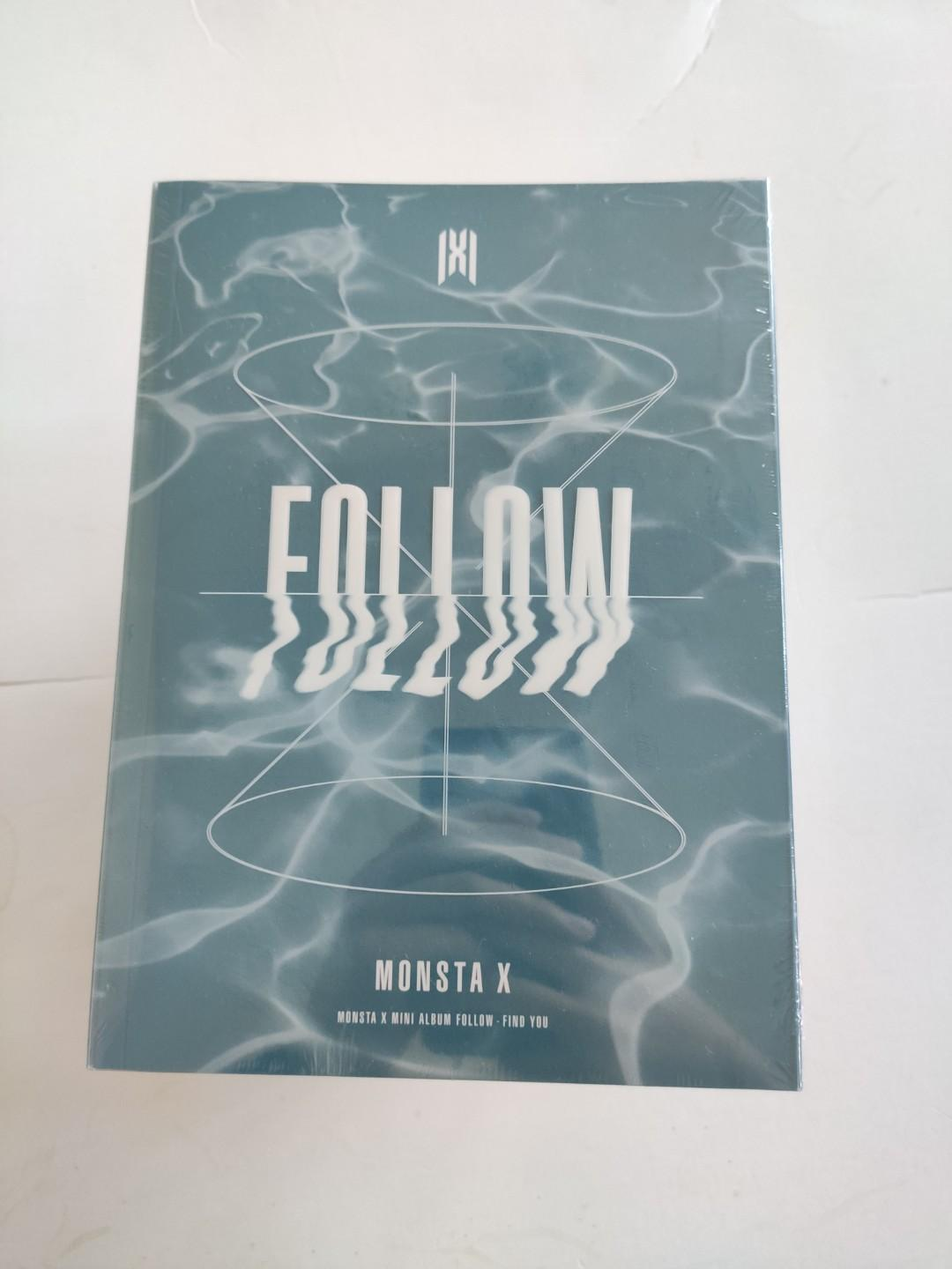 READYSTOCK - SEALED}  MONSTA X - FOLLOW - FIND YOU 🌼Normal Version (1)