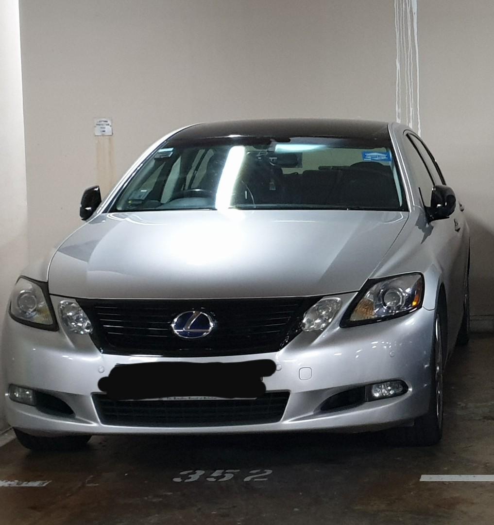 Grab premium / RydeExec car - Maximize your income with fuel efficient Lexus GS450H !!