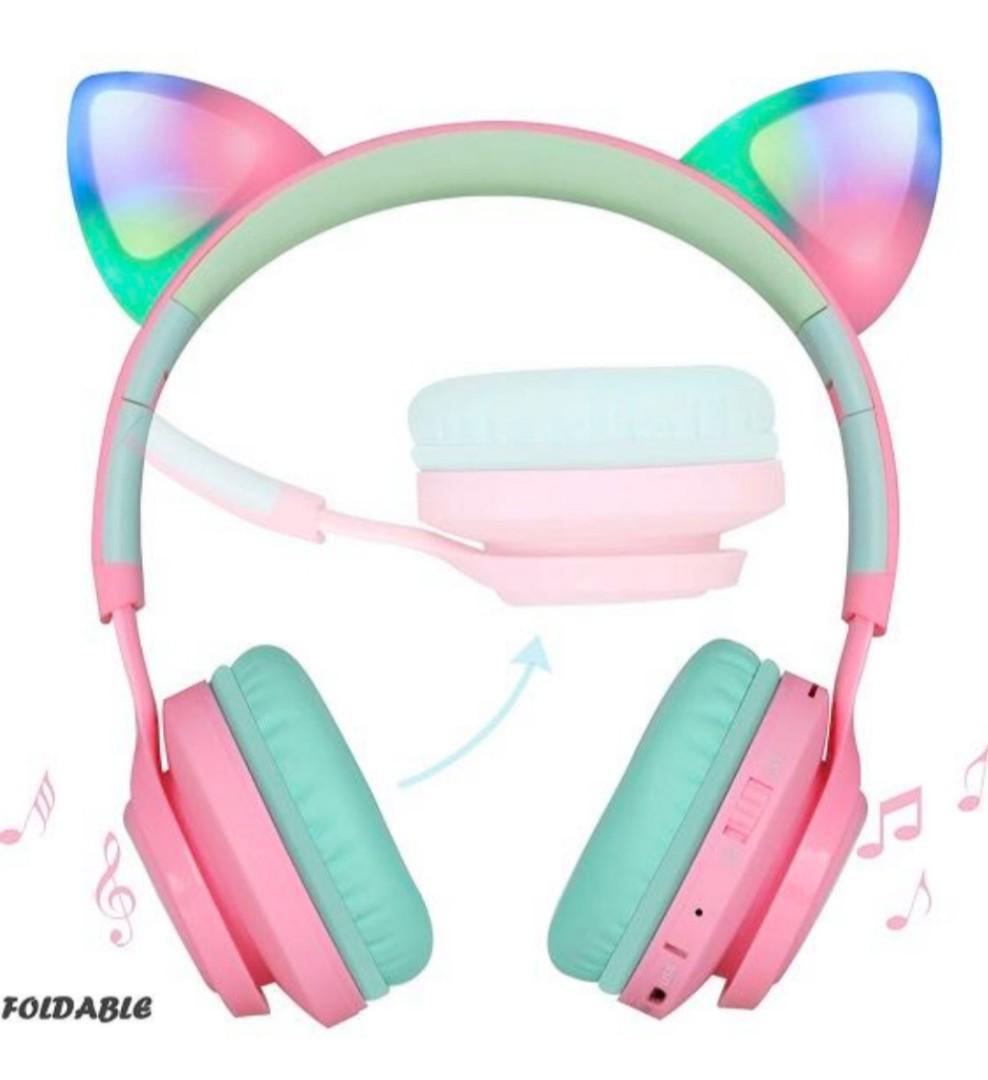 Riwbox Cat Wireless Headphones