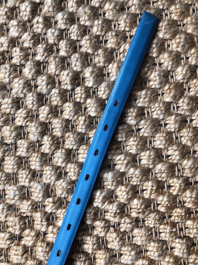 Scanlan Theodore blue leather belt size small-medium