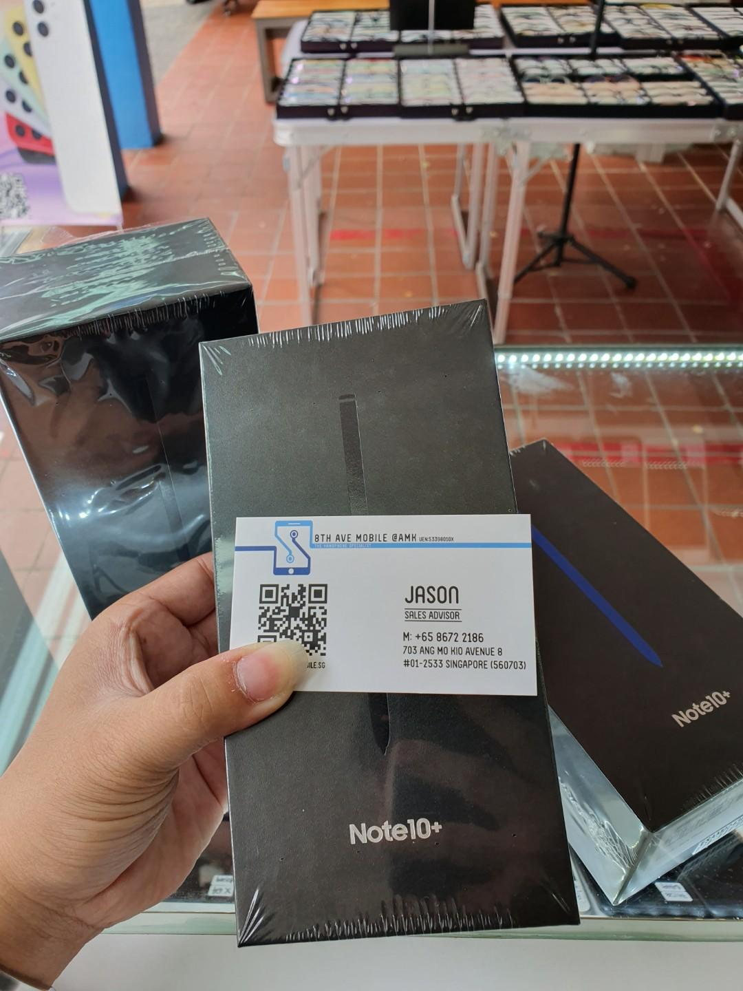 Selling Note10+ 256GB Brand New Set