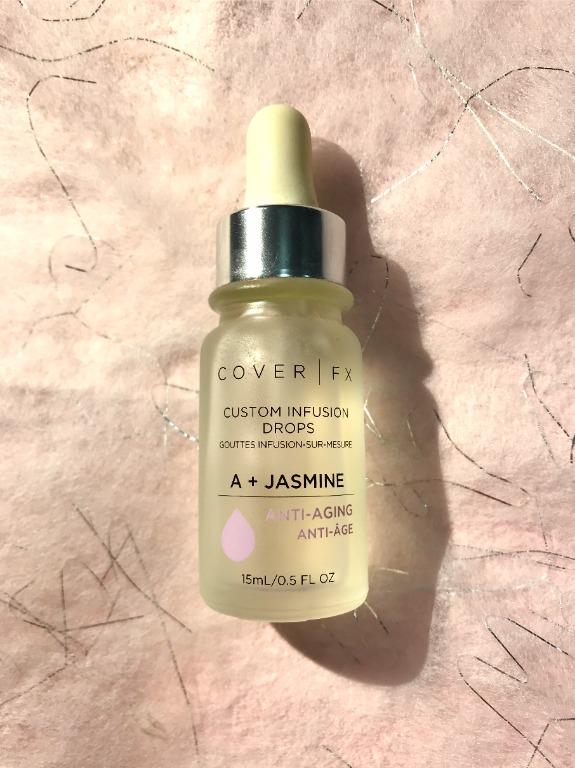 COVERFX: CUSTOM INFUSION DROPS A + JASMINE - ANTI-AGING 15mL