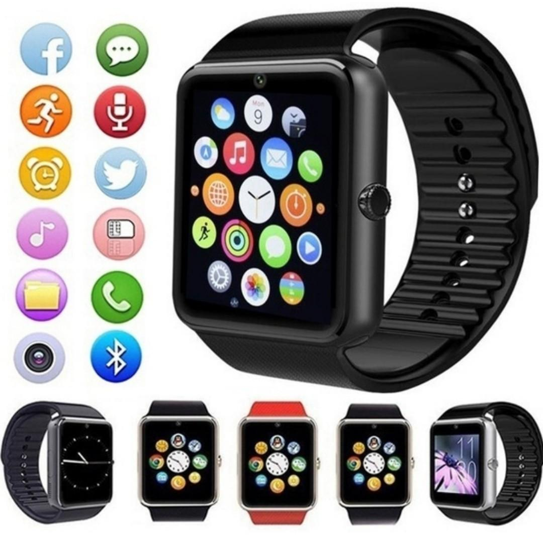 Smart Watch Android Bluetooth Connection Clock & Music