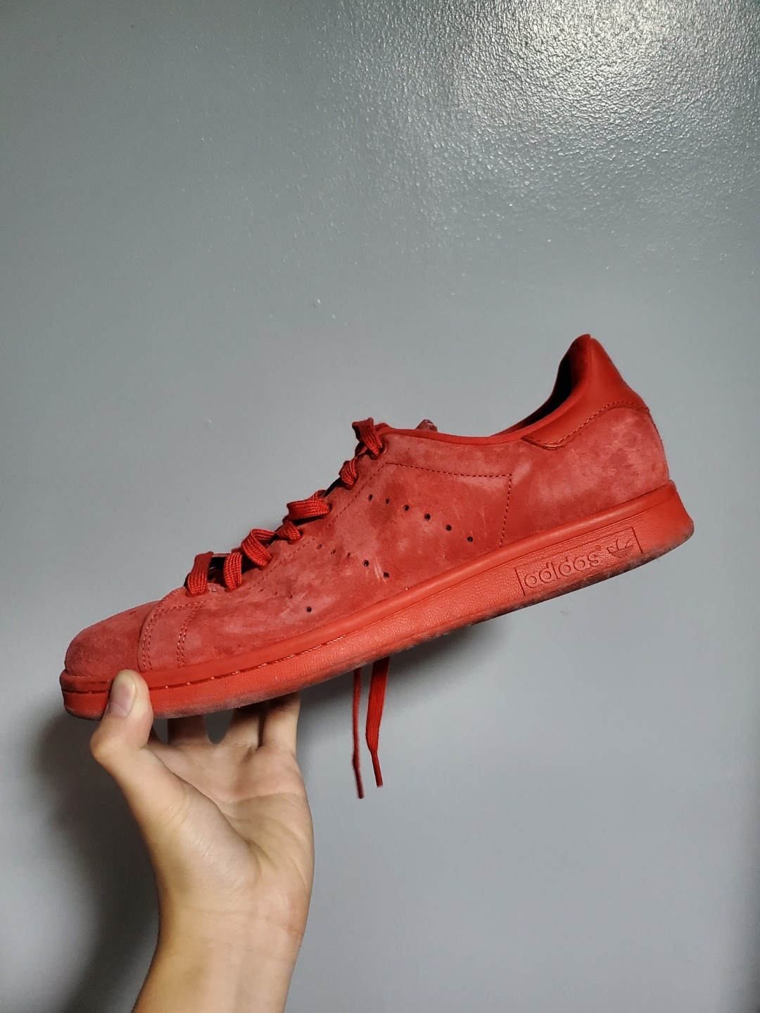 STEAL! Adidas Stan Smith Suede Red, Men