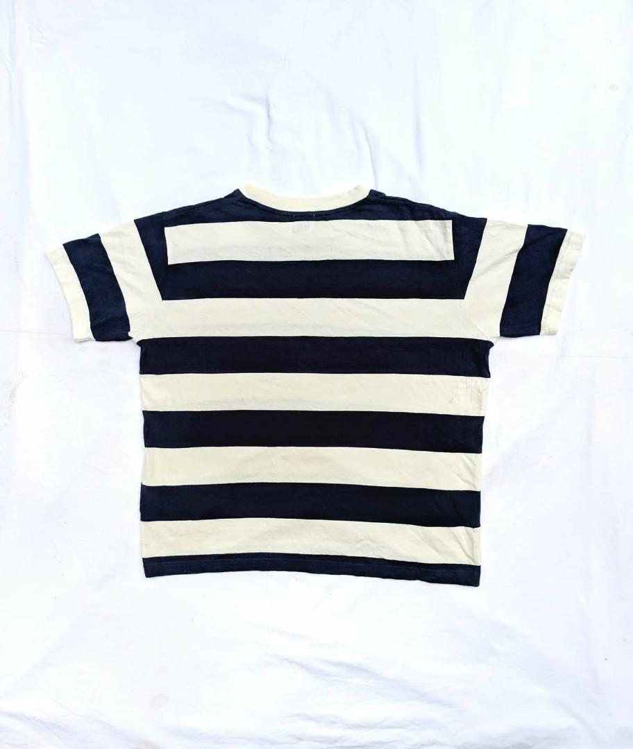 Stripes Crop Top T-Shirt