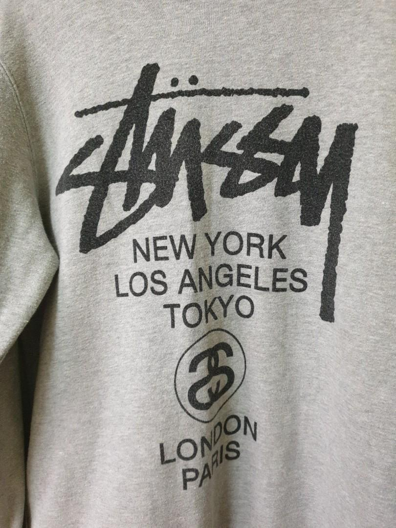 Stussy authentic grey Sweater (for men)